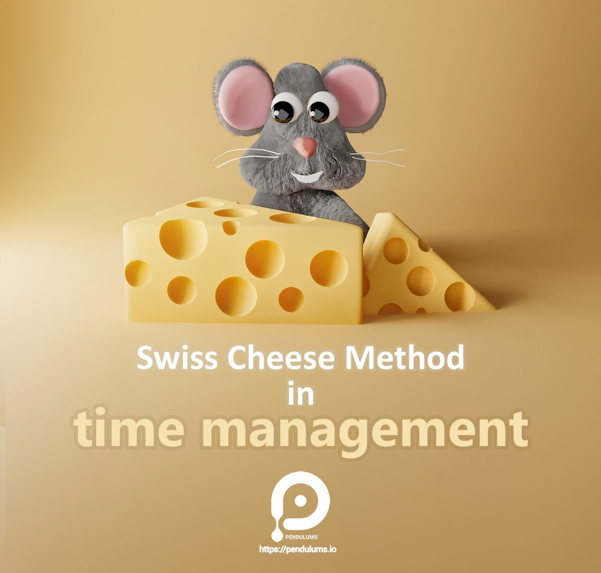 🧀Swiss cheese method in time management means that even if you have little time, do not spend it on small and insignificant tasks, but on doing a part (albeit small) of your important work. (Swiss cheese: Yellow cheese with holes inside.) In this way, even small times are used to do great things, and even those small times are not wasted. Sometimes it is very difficult for us to do some things, by doing small holes (small parts) little by little the work ends. You can also use Pendulums for tracking your time on different tasks that are doing, it's available on (Windows, Mac, Linux and Android)