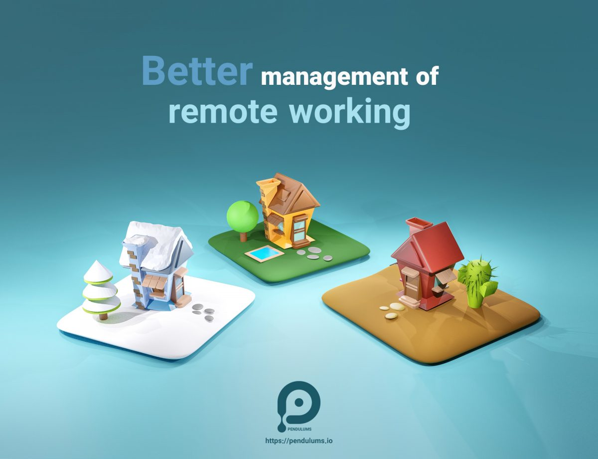 Remote working is not new, although it has received more attention with the Corona pandemic. The benefits of remote working can be examined in three general ways Individual: - Reduce costs and time for traffic - Find more job opportunities - Less disruption in family relationships - The possibility of employing for the disabled people Organizational: -reduction in costs - Improving the productivity of employees and thus increasing the productivity of the organization - The possibility of hiring from different parts of the world And from a social point of view: - decreasing air pollution - reduction of traffic - Increasing job opportunities in the community - Economic Growth And the disadvantages of remote working: - Lack of trust in employees - Disorder in human resource management - Impairment in calculating the working time of employees Do you agree that the benefits of remote working are more than the disadvantages? There are many tools that can help organizations overcome these disadvantages Including project-oriented time management tools that provide each user with an activity report, along with an activity chart, like Pendulums. The Pendulums is completely free and very easy to work with You can also take notes on each project and easily track your time on the projects as a group or individually as the task you are doing. In addition, the pendulum is unlimited in the number of projects and the number of users of each project and has provided the possibility of getting output from user reports.